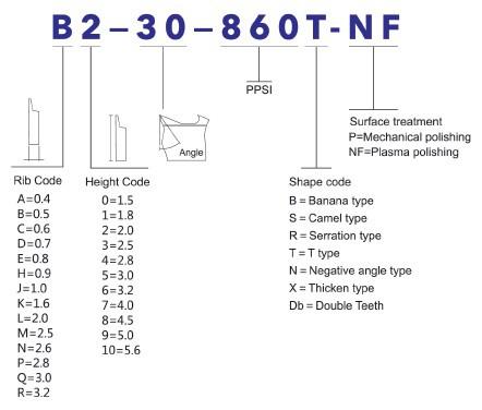 geron blue diamond product model identification