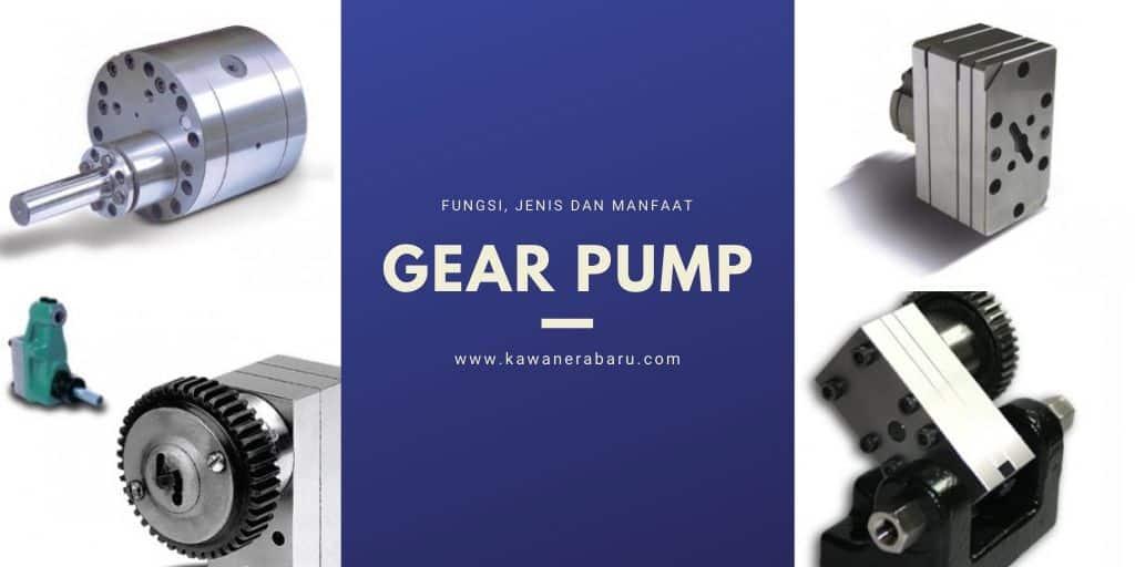 fungsi dan jenis gear pump