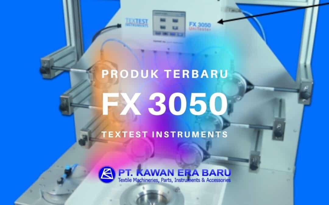 Produk Terbaru Textest Instruments: FX 3050