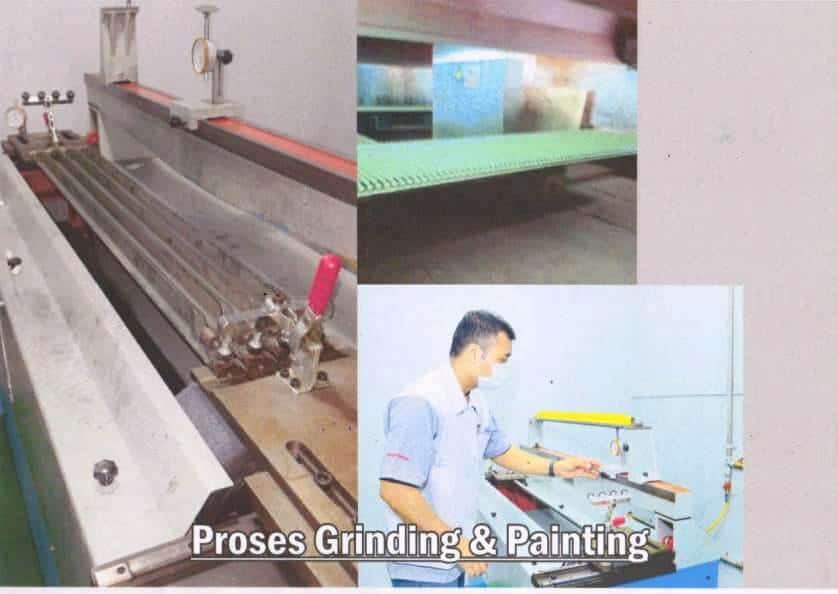 Proses Grinding dan Painting