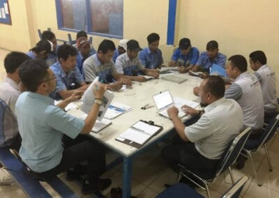 Training KEB-Geron 1