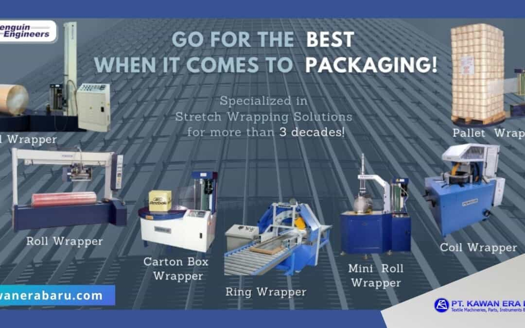 Video Produk Mesin Stretch Wrapping Pinguin Engineers