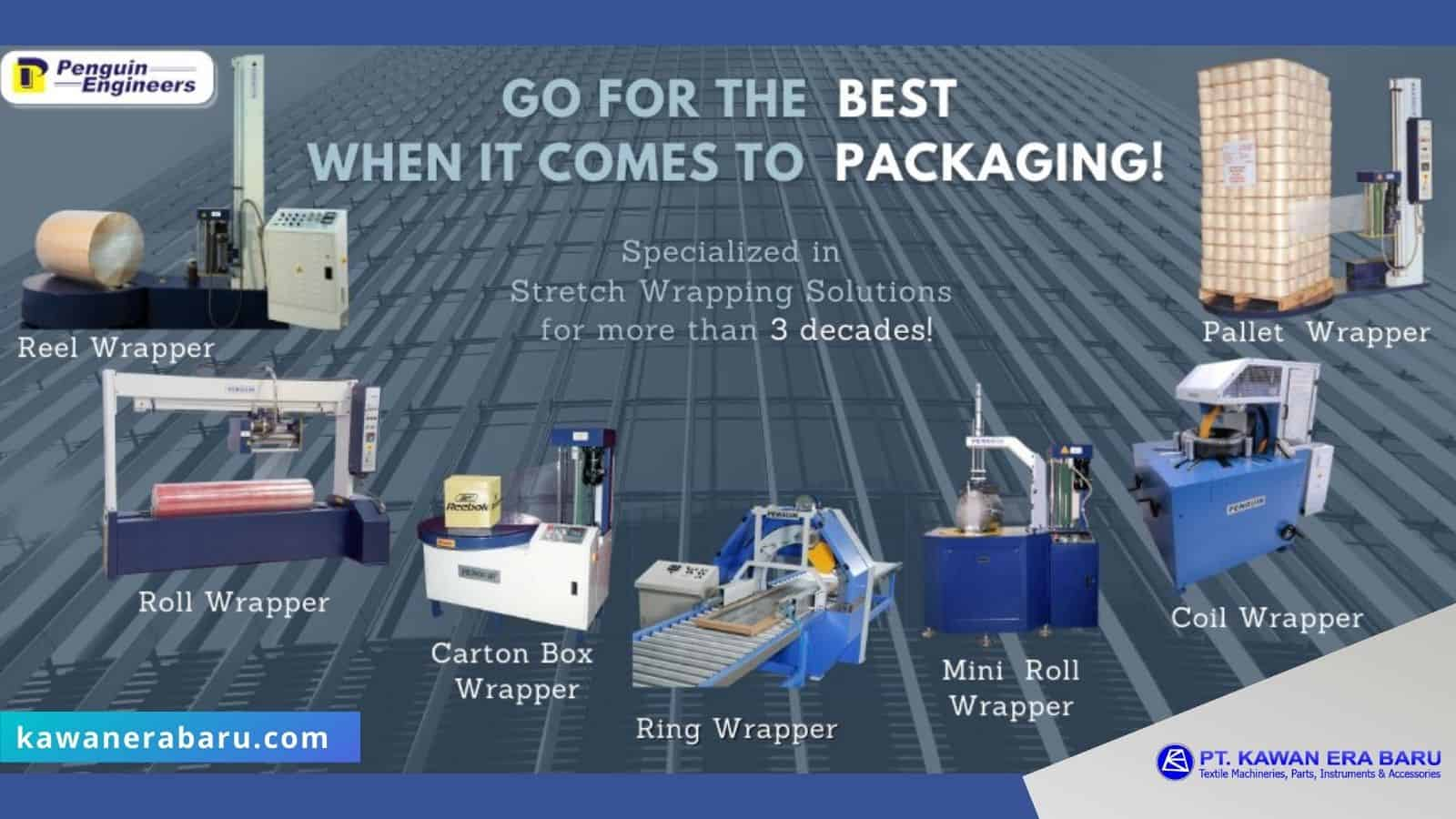 video produk mesin stretch wrapping